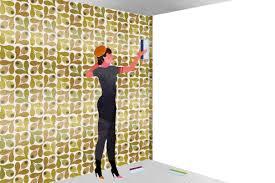 tapisser une chambre comment tapisser dans les coins pour poser du papier