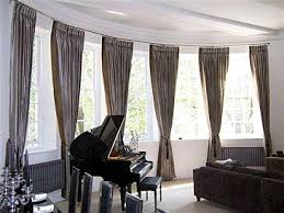 Ready Made Curtains For Large Bay Windows best 25 bay window pole ideas on pinterest bay window cost bay