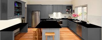 grey kitchen units with black granite worktops grey granite kitchen showroom granite tops uk