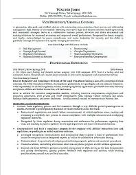 Example Secretary Resume Legal Secretary Resume Sample General Counsel Resume Example