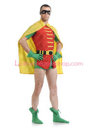 cheap robin hood lycra yellow stage show spandex cosplay costumes