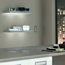 shelf with lights underneath glass shelf lighting led cabinet tempered shelf lights floating
