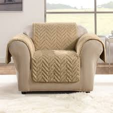 fur chair cover quilted faux fur chair furniture cover sure fit target
