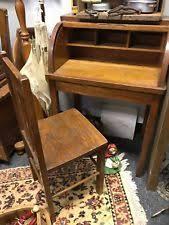 Small Oak Roll Top Desk Roll Top Desk Ebay