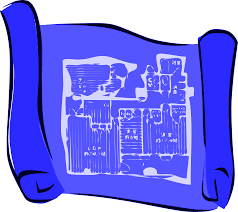 clipart simple blueprints