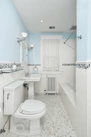 bathroom flooring green colored shower blue walls floor tiles
