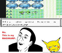 Meme Center Pokemon - i was playing pokémon yellow and by chase1002 meme center