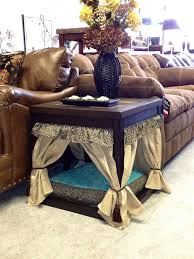 End Tables For Living Room 15 Stylish Pet Beds That Also Serve As Great Looking Tables