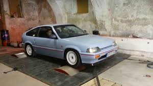 Honda Crx 1987 Honda Crx 1986 Dyno Day Tunkka Tuning Solutions Youtube