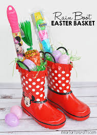 easter basket boot easter basket idea i heart arts n crafts