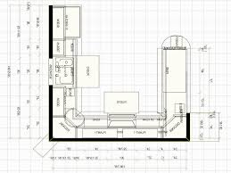 Kitchen Layout Island by Kitchen U Shaped With Island Floor Plans Uotsh