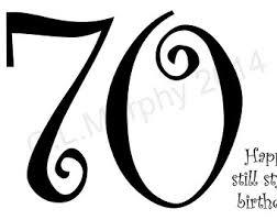 happy 70th birthday etsy
