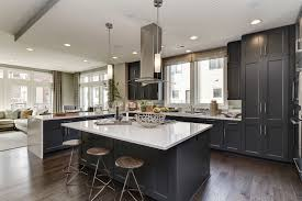 grosvenor kitchen design spacious contemporary kitchen with large central island featured in