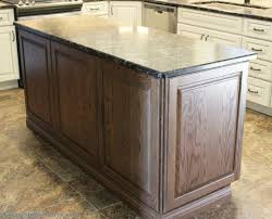 decorative kitchen islands a kitchen island with applied decorative doors on back panel and