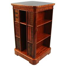 Narrow Mahogany Bookcase by Fine And Unusual English Mahogany Compact Bookcase At 1stdibs
