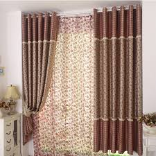 design curtains flowers and plaid design create living room curtains styles