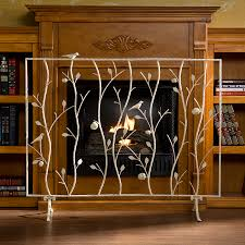 fresh fireplace screen with doors home decoration ideas designing