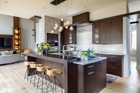 raised kitchen island raised island bar kitchen contemporary with modern organic casual