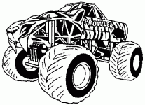 monster truck coloring wallpaper download cucumberpress