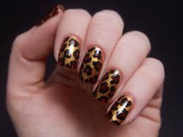 leopard print nail design nail designs hair styles tattoos and