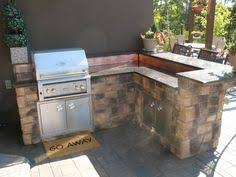 L Shaped Outdoor Kitchen by Portable Bbq Islands King Outdoor Kitchen L Shaped Grill