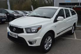 ssangyong korando sports second hand ssangyong korando sports pick up ex 5dr auto 4wd now