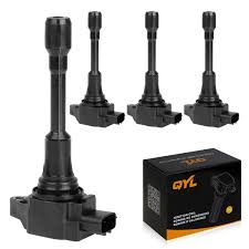 nissan altima coupe v8 amazon com qyl pack of 4 ignition coil for nissan altima sentra