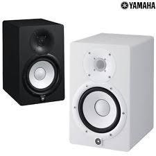 black friday studio monitors yamaha hs7 powered studio monitor white hs 7 ebay