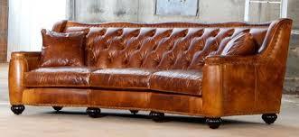 Leather Chelsea Tufted Sofa T - Chelsea leather sofa