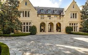 english tudor 21 million english tudor revival stone mansion in dallas tx