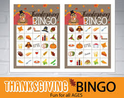 thanksgiving bingo for thanksgiving bingo cards