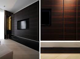 Wood Wall Panels by Dark Laminate Wood Wall Panels With Mounted Tv Ideas In Beautiful