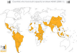 Costa Rica On World Map who urban health equity assessment and response tool urban heart