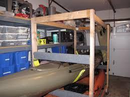 Free Standing Kayak Storage Rack Plans pvc storage rack for kayak