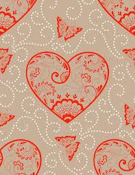 flowers seamless pattern element vector background vector flower seamless pattern element with hearts elegant texture