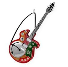 2009 hallmark keepsake ornament jingle bell rock electric guitar