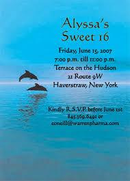 dolphin invitation animal theme invitation