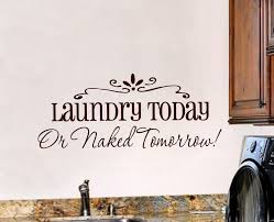 laundry room wall decal laundry room decor vinyl wall art zoom