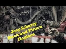 jeep liberty cartoon 2002 jeep liberty 4wd 3 7l v 6 power steering rack and pinion