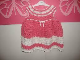crochet 6 9 months baby dress كروشية فستان بيبي من 6 9 شهور