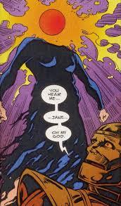crazy jane morrison doom patrol comic book art
