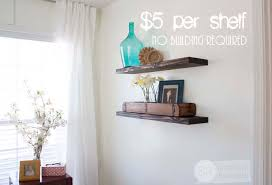 Floating Wood Shelves Diy by Quick Easy U0026 Budget Friendly Diy Floating Shelves
