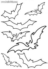 camp of flying black bats coloring pages hellokids com