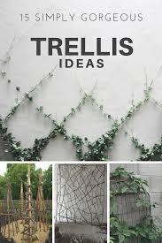15 simply gorgeous trellis ideas weed u0027em u0026 reap