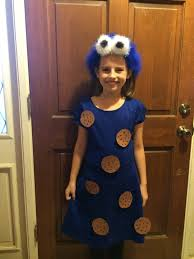 how to make a cookie monster costume pins in a nutshell