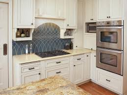 Unique Kitchen Backsplashes Small Tiles Kitchen Backsplash Pictures With Maple Cabinets