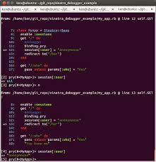 github hlee sinatra debugger example best practice how to