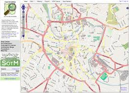 map types categorising open map road types for display and