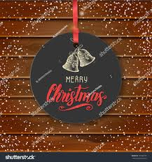 quote happy christmas vector christmas vintage label hand drawn stock vector 729982795