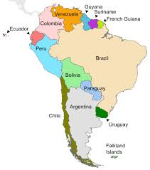 south america map equator south america geography continents of the world